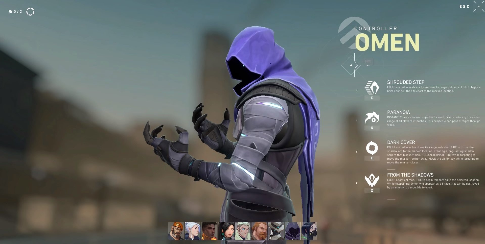 Valorant Agent Guide: How to play as the shadowy Omen