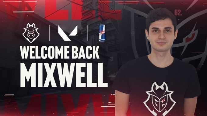 Former CSGO star Mixwell moves to Valorant, joins G2