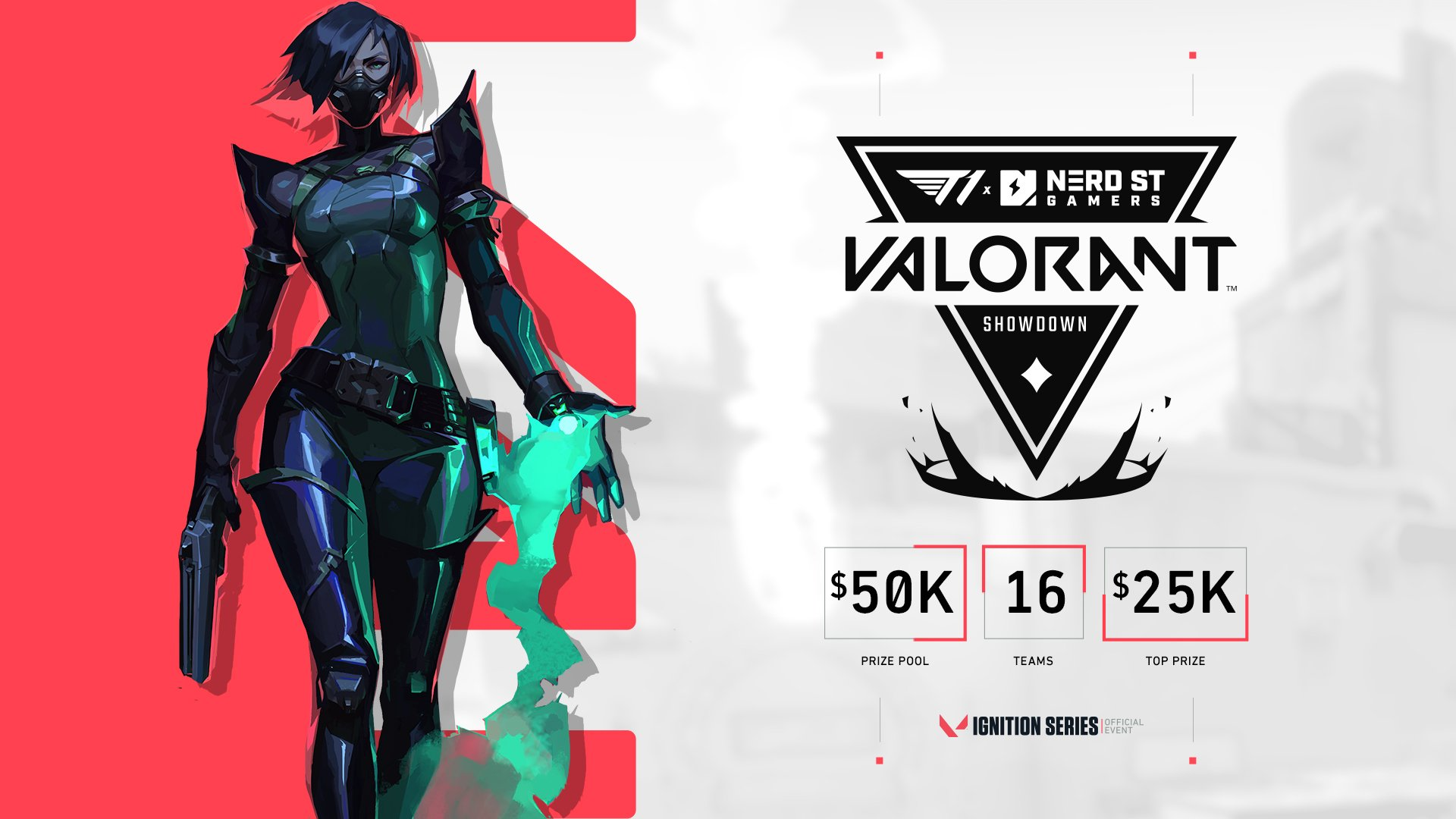 T1 x Nerd Street Gamers VALORANT Showdown announced