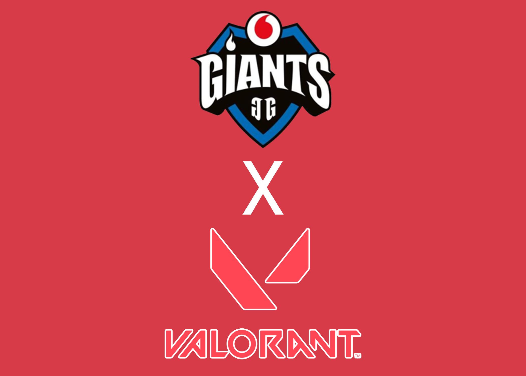 Vodafone Giants announce Valorant roster