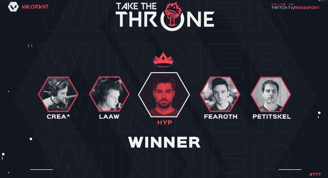 HypHypHyp dethrone fish123 at Take The Throne #6