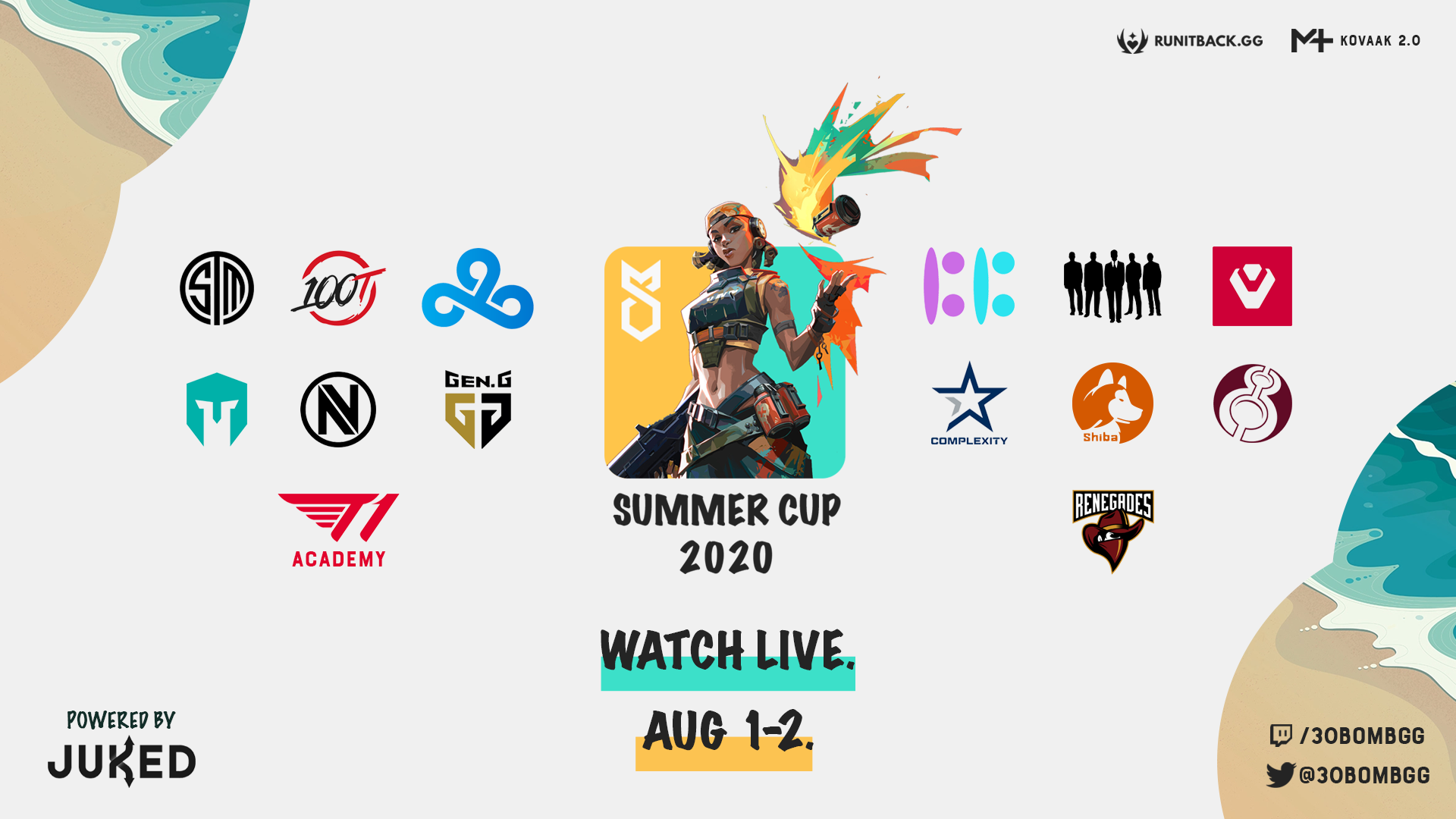 30B Summer Cup – Everything you need to know