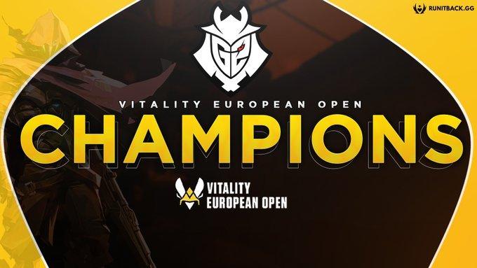 G2 takes home the Team Vitality Valorant Ignition Series  tournament