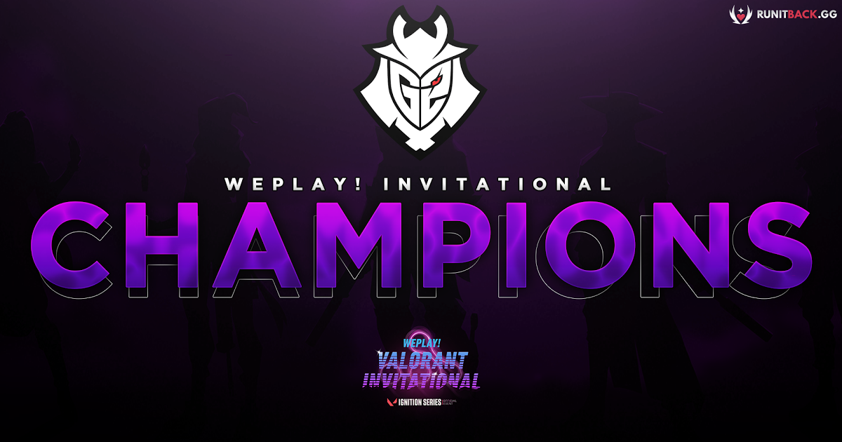WePlay! Invitational - G2 champions