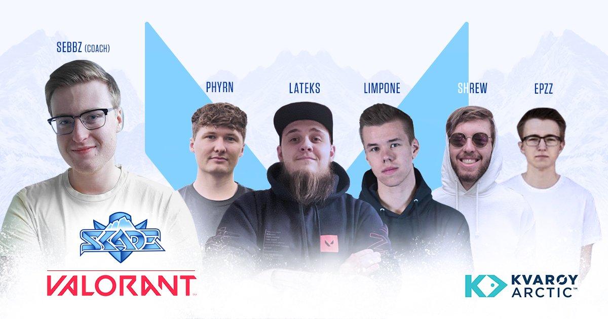 SKADE picks up FABRIKEN Valorant roster