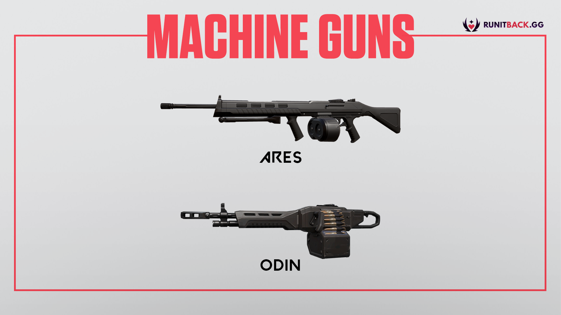 Valorant Weapon Guide: Machine Guns