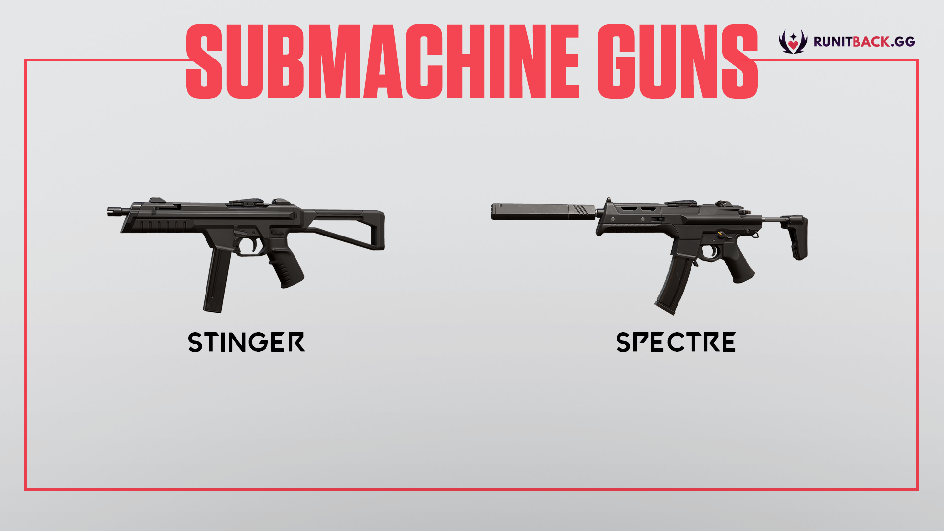 Valorant Weapon Guide: Submachine Guns (SMGs)