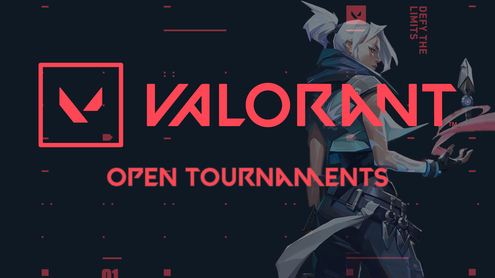 Valorant Open Tournaments