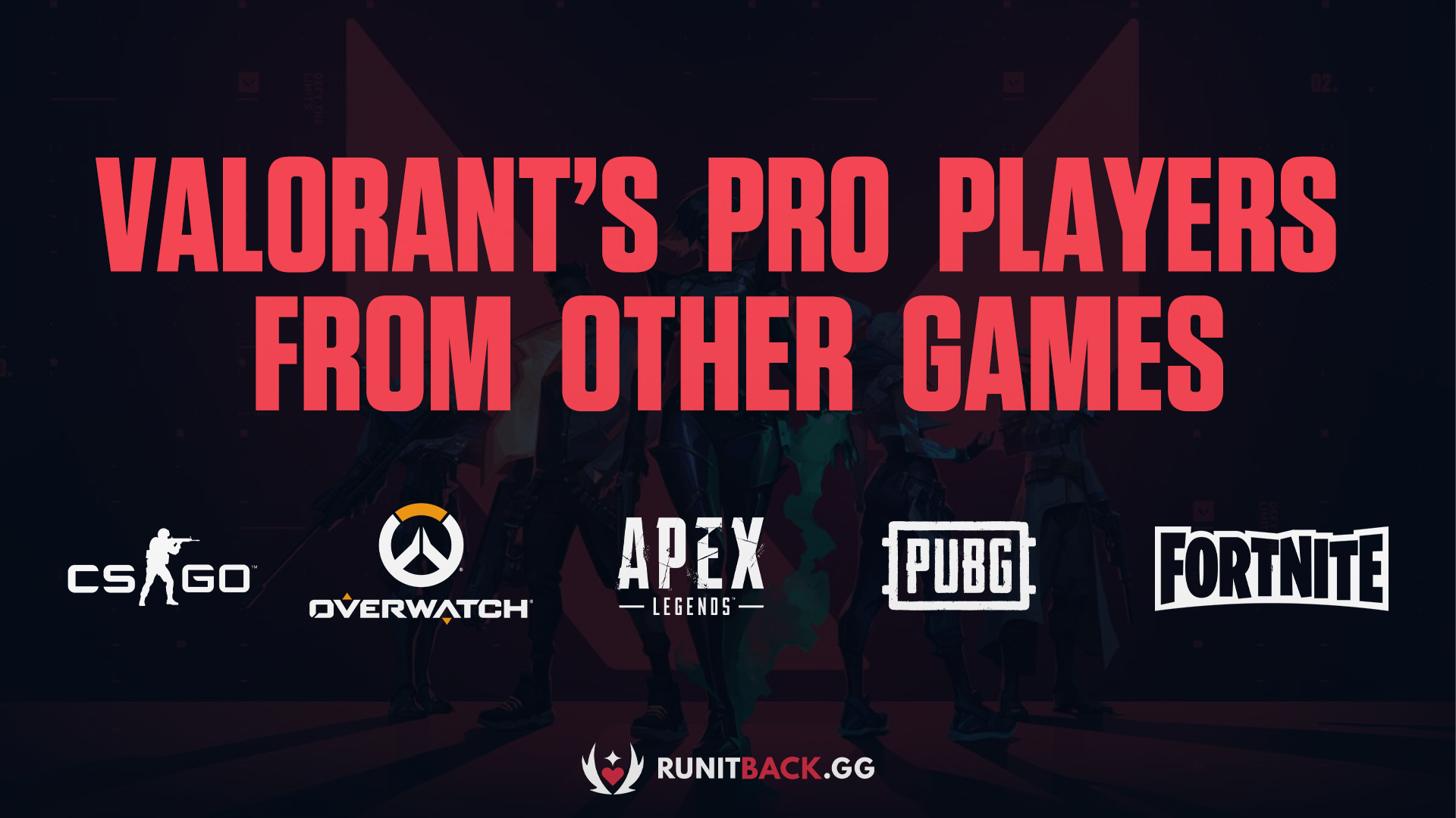 Valorant's Pro Players from Other Games