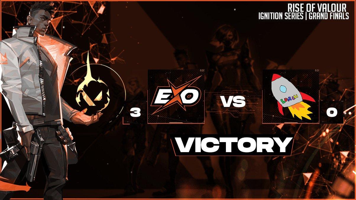 Rise of Valour - EXO clan champions