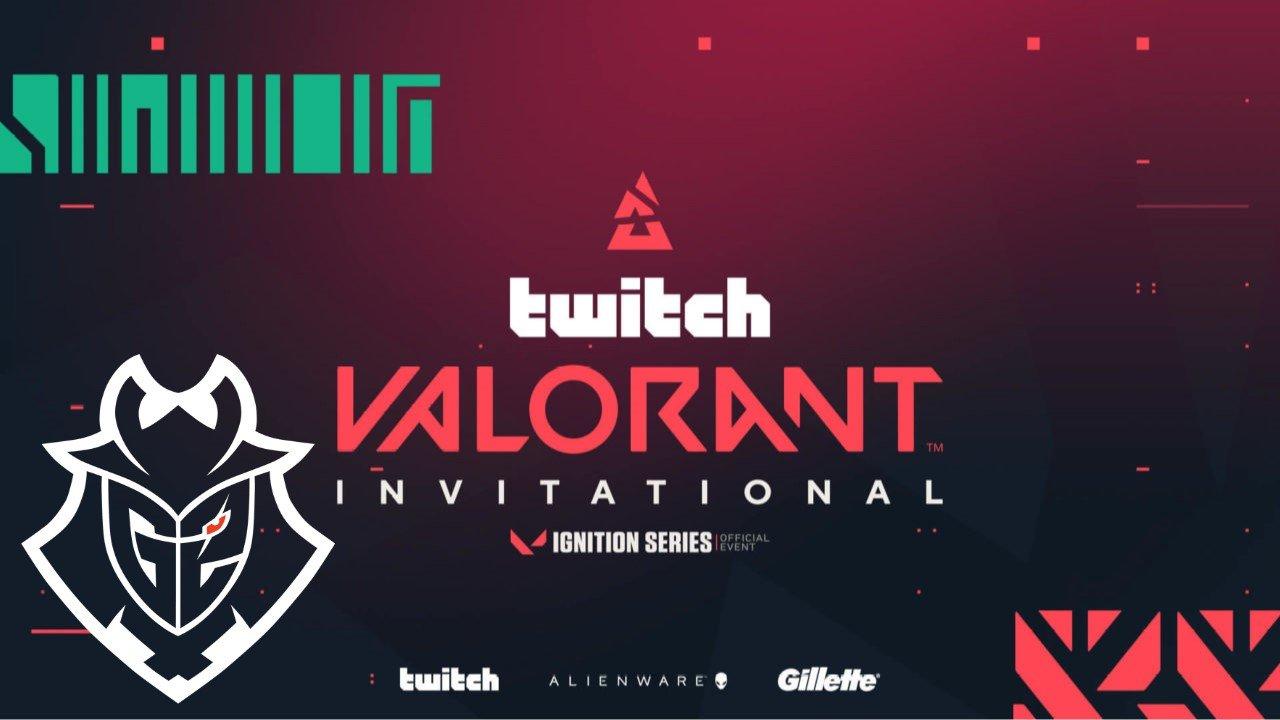 BLAST Valorant Twitch Invitational: G2 Win all Ignition Series EU events