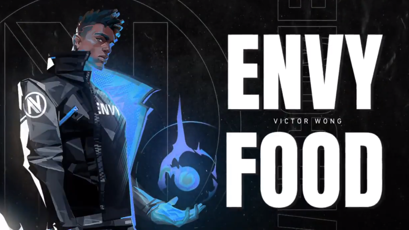 Team Envy signs food to Valorant squad