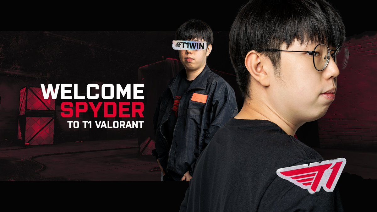 T1 signs Spyder to complete Valorant roster