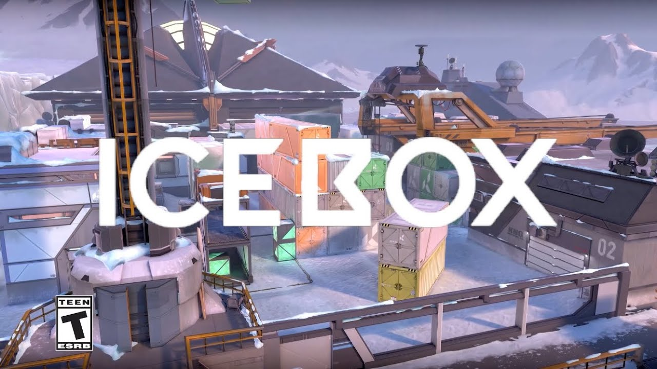 Icebox leaks reveals the new map's layout and callouts