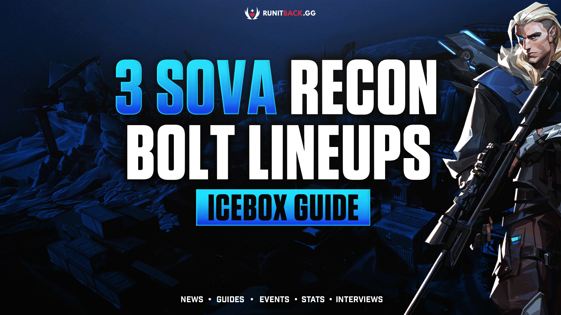 Valorant Guide: 3 Sova Recon Bolt Lineups to use on Icebox for Attack