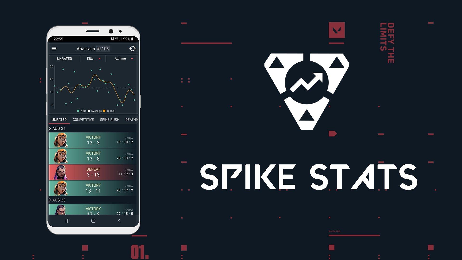 Reddit user creates Spike Stats: A free Valorant performance app