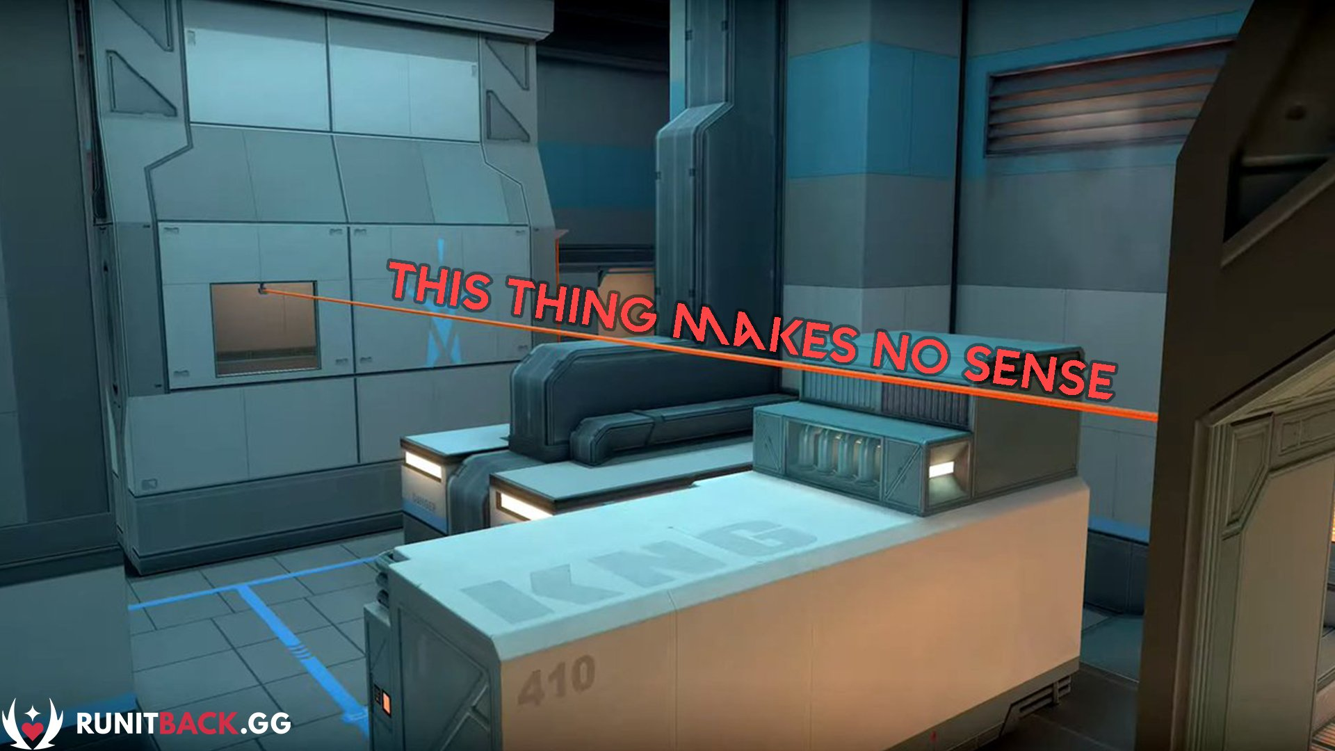 Valorant's Icebox zipline makes no sense