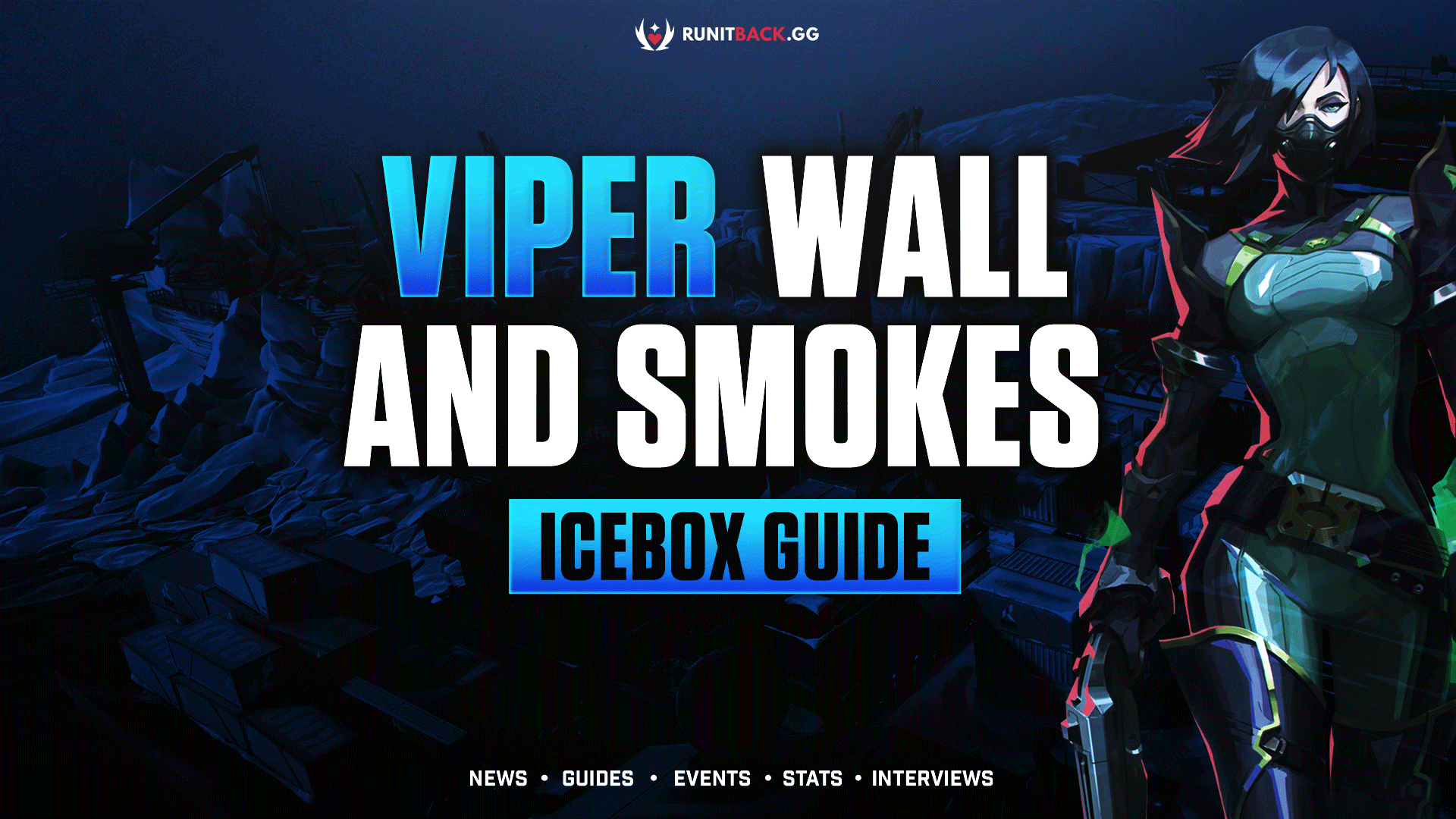 Viper Toxic Screen and Poison Cloud Guide: Icebox