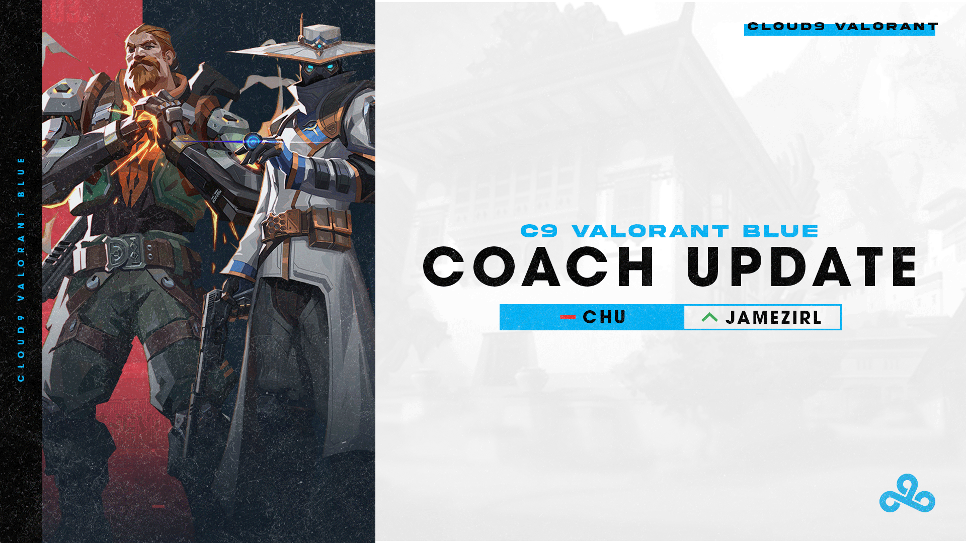 Cloud9 Blue part ways with head coach Chu