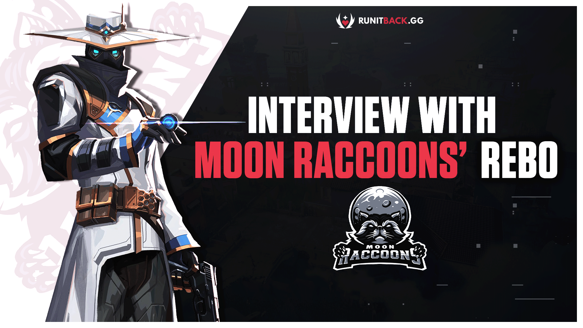 Moon Raccoons' Rebo on the team name, its future in Valorant, and more in exclusive interview