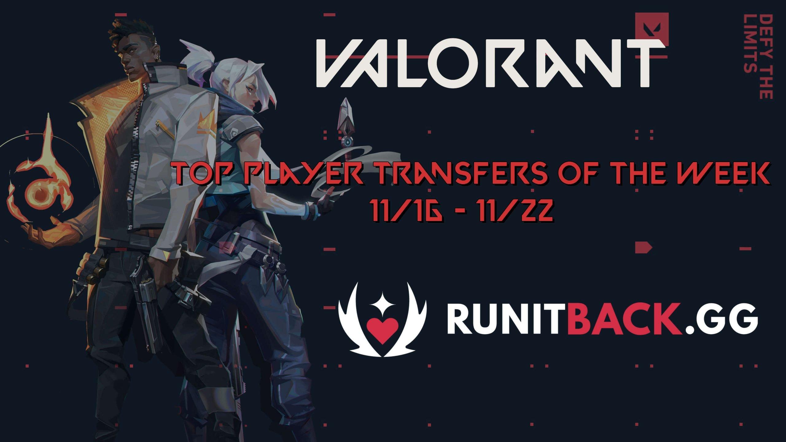 Top Player Transfers of the Week: November 16 – November 22