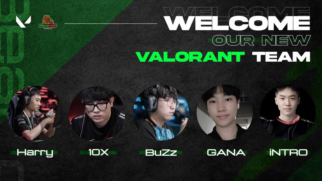 BearClaw Gaming Forms All New Valorant Roster