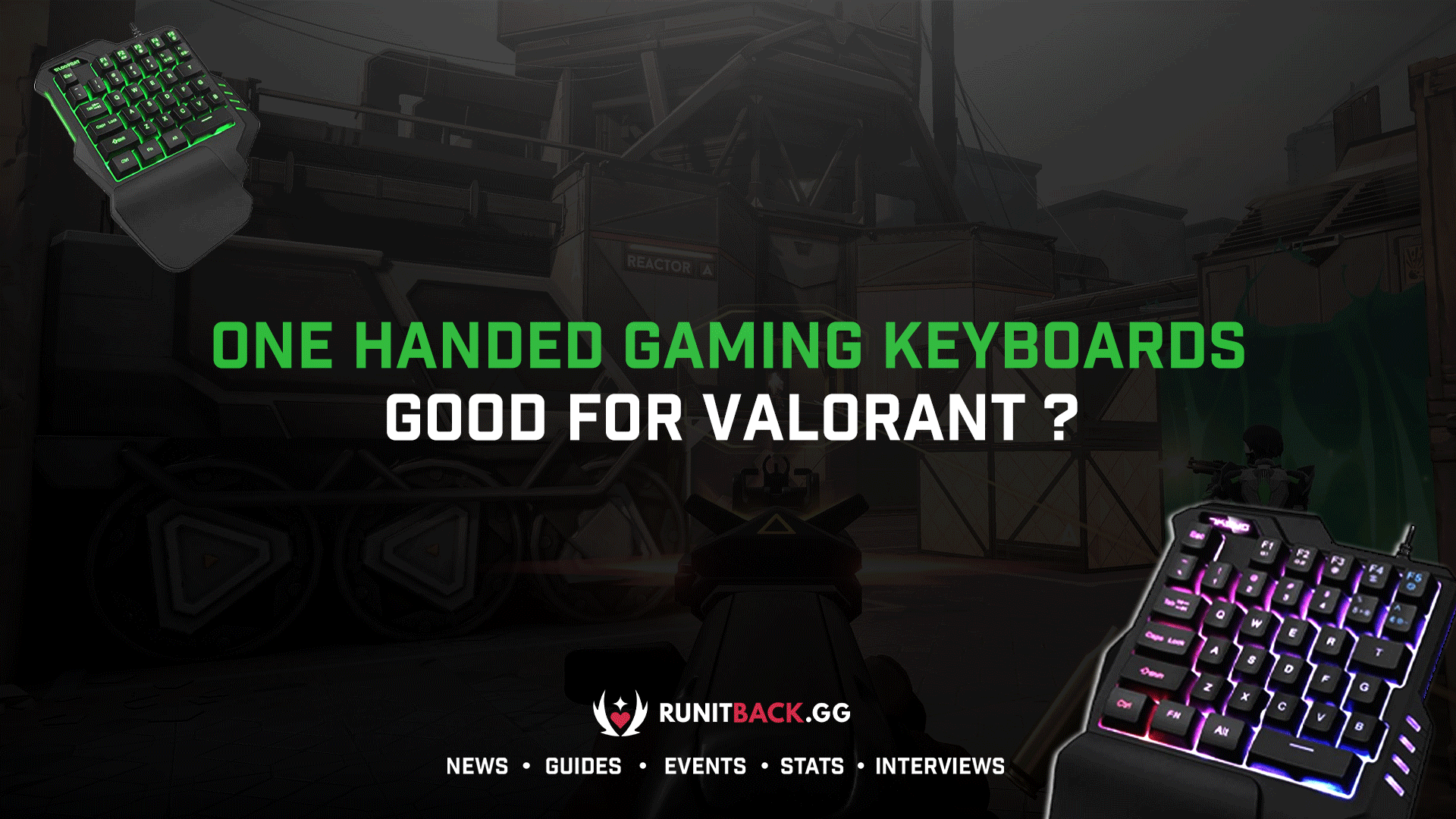 Are One Handed Gaming Keyboards Good for Valorant?