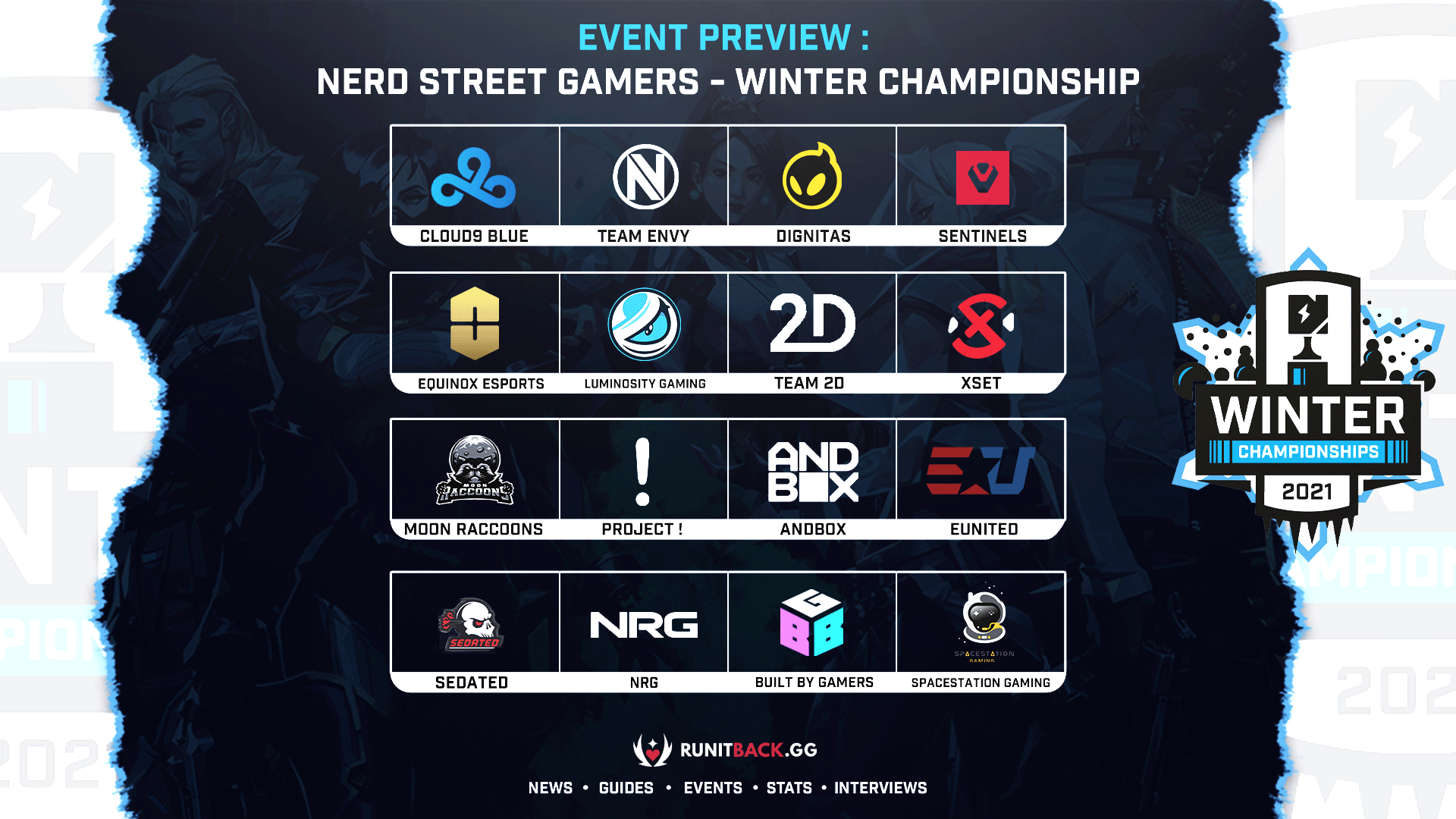 Event Preview: Nerd Street Gamers Winter Championships