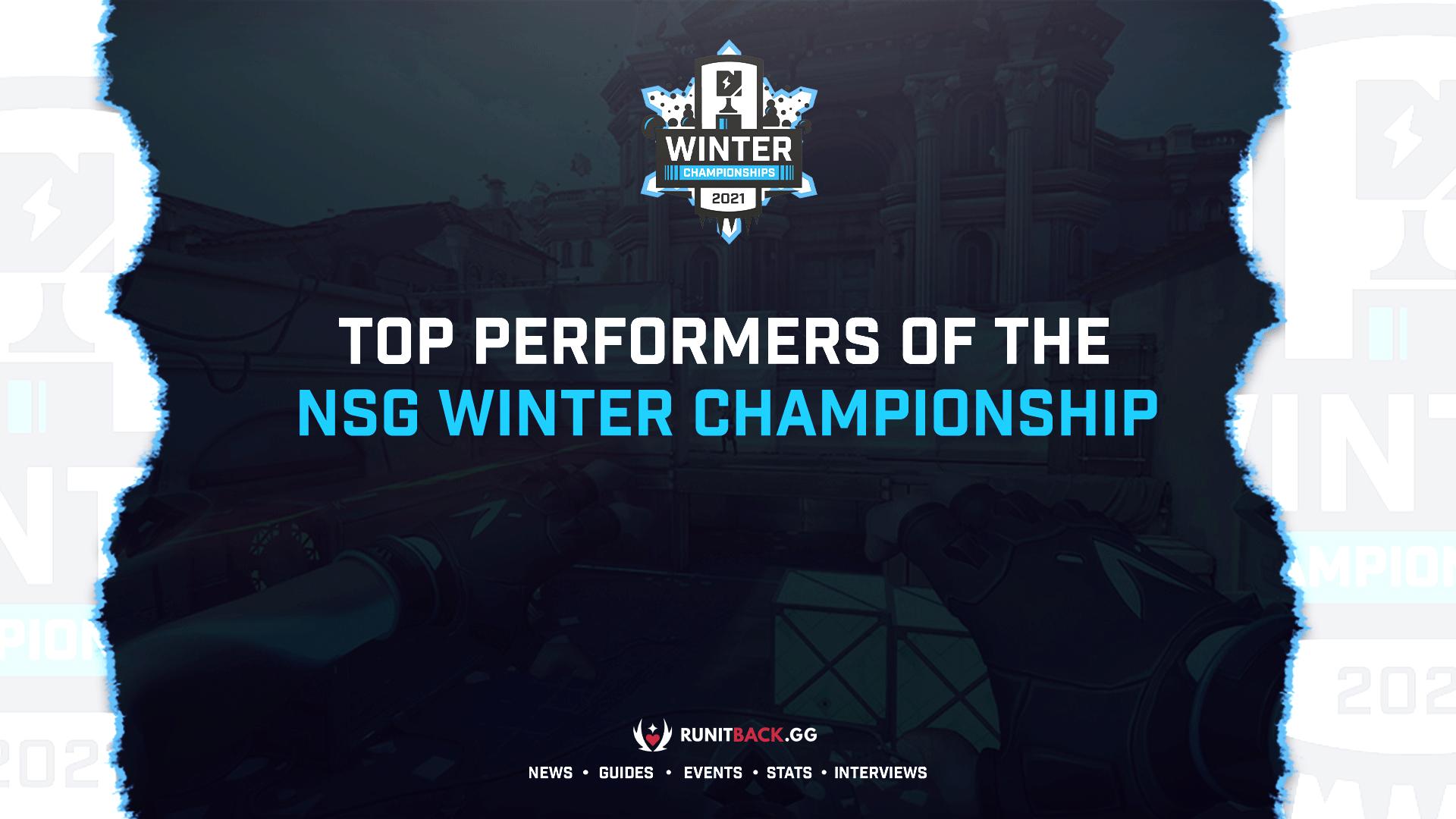 Top Performers: Nerd Street Gamers Winter Championship
