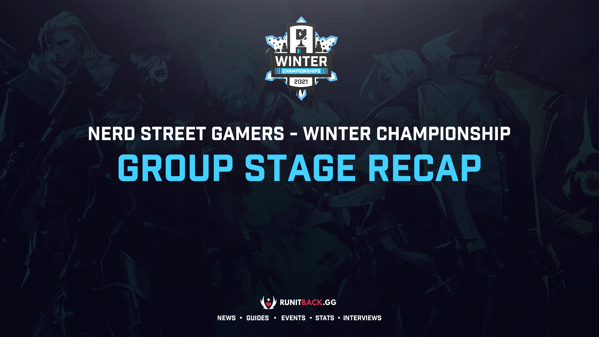 Nerd Street Gamers Winter Championship Group Stage Results