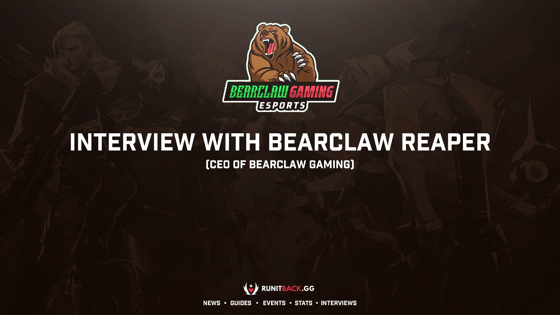 Meet Reaper, a 17-year-old CEO of Korean Valorant Team BearClaw Gaming