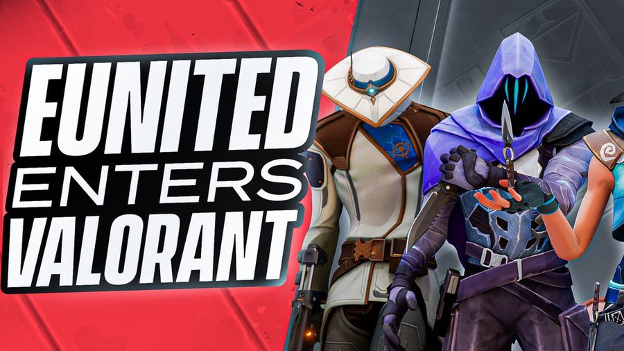 eUnited Enters Competitive Valorant With All New Roster
