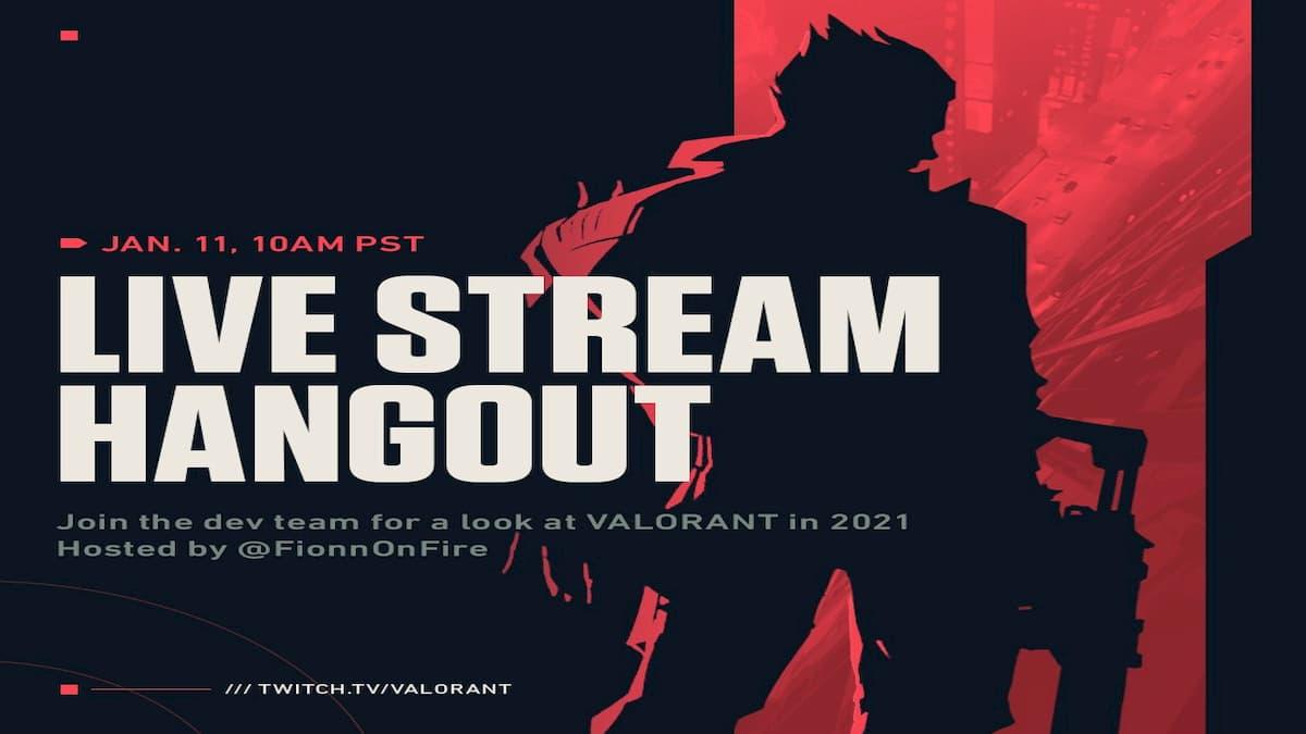 Valorant Live Stream Hangout Recap (1/11/21)