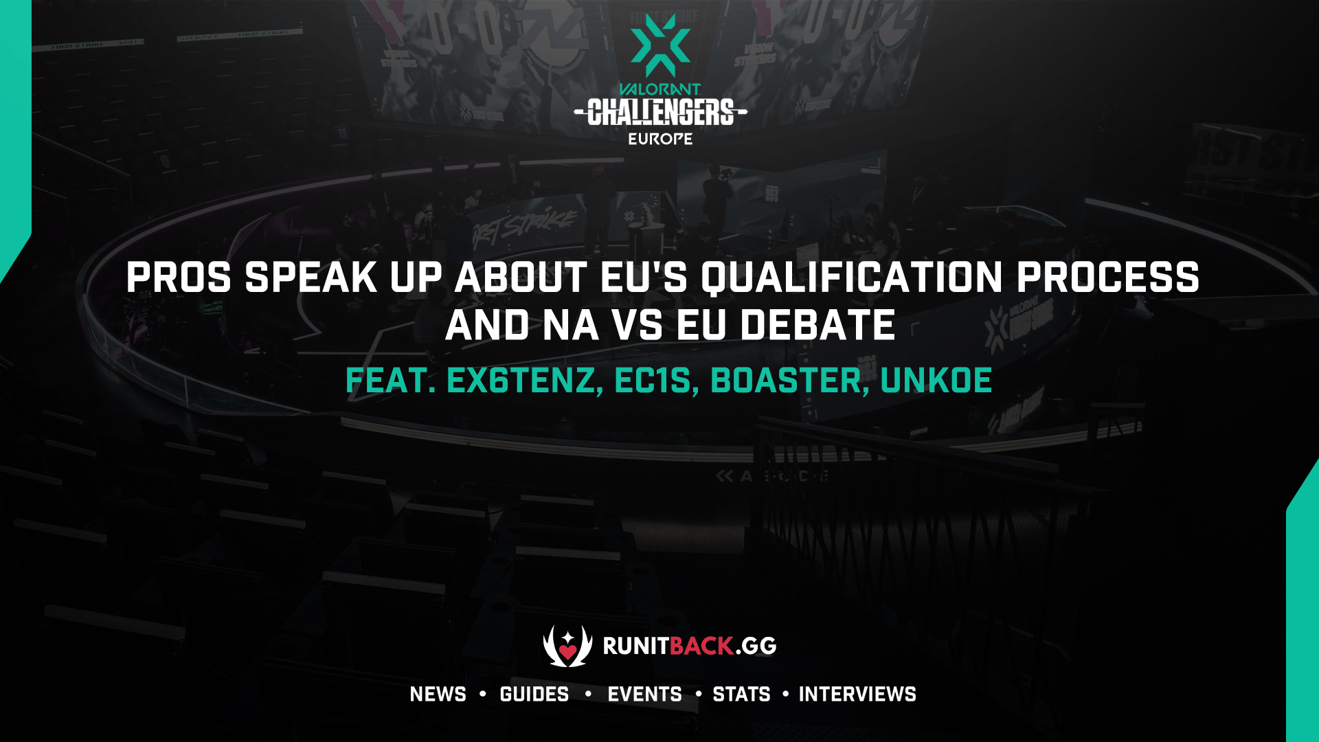 Pros speak up about EU's qualification process and chime in on NA vs EU debate feat. Ex6TenZ, ec1s, Boaster, and uNKOE (Exclusive)