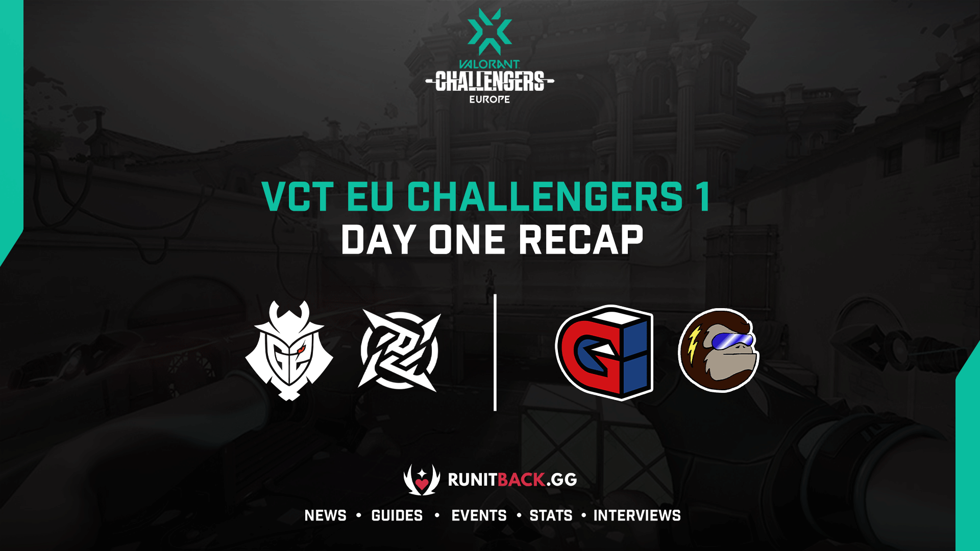 VCT Europe Challengers 1: Day One Recap