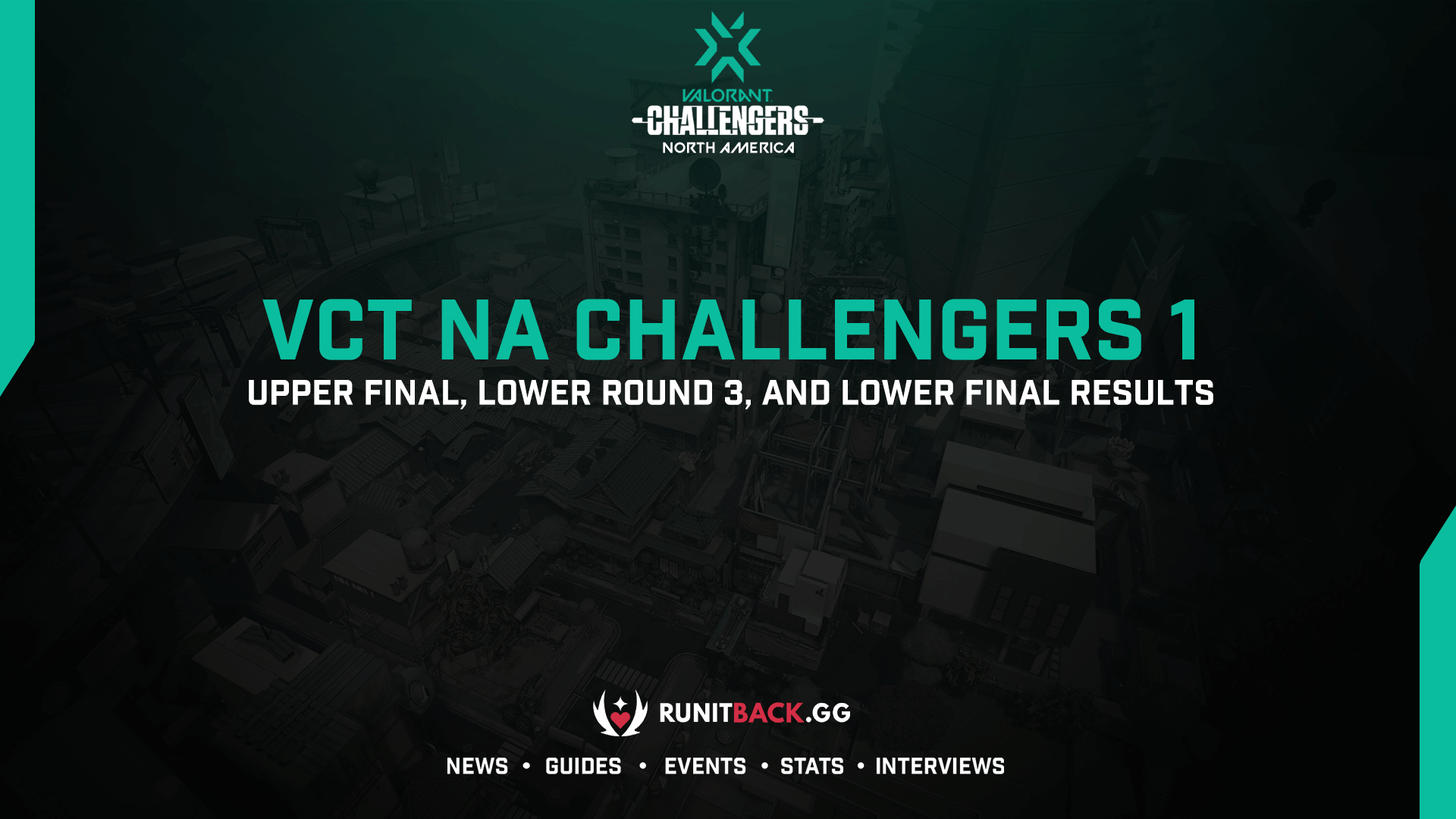 VCT NA Challengers 1 Main Event: Upper Final, Lower Round 3, and Lower Final Results