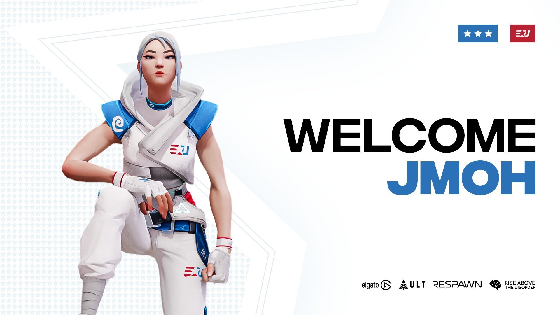 eUNITED officially sign jmoh to Valorant Roster