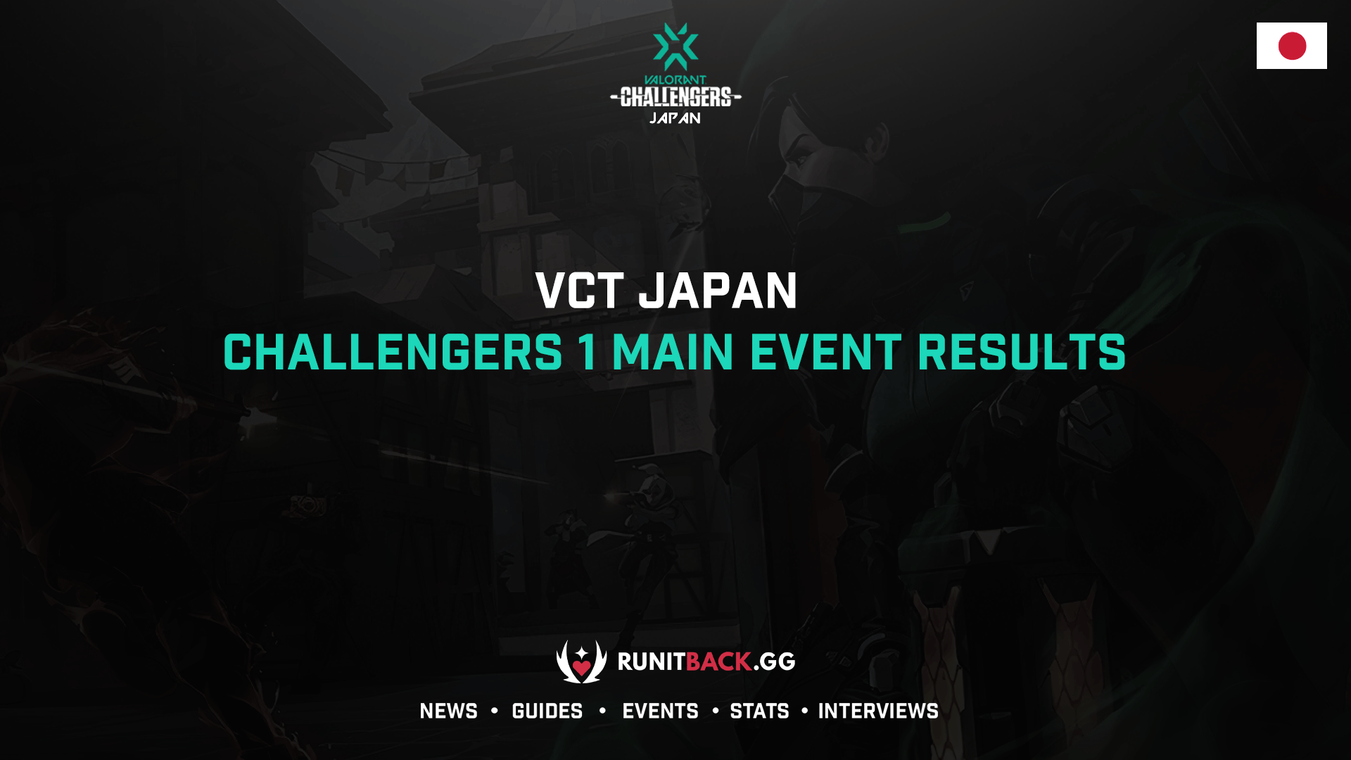 VCT Japan: Challengers 1 Main Event Results
