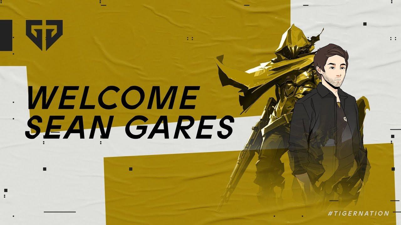 Sean Gares Gen.G Content Creator
