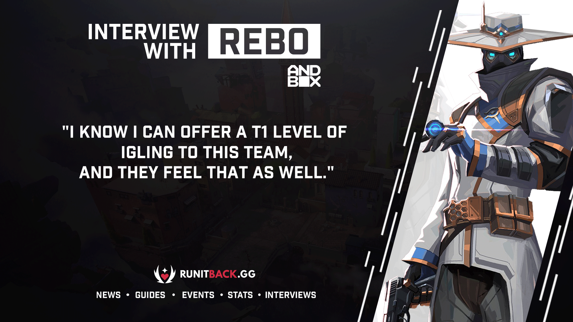 Rebo on joining Andbox and keeping the Moon Raccoons spirit alive