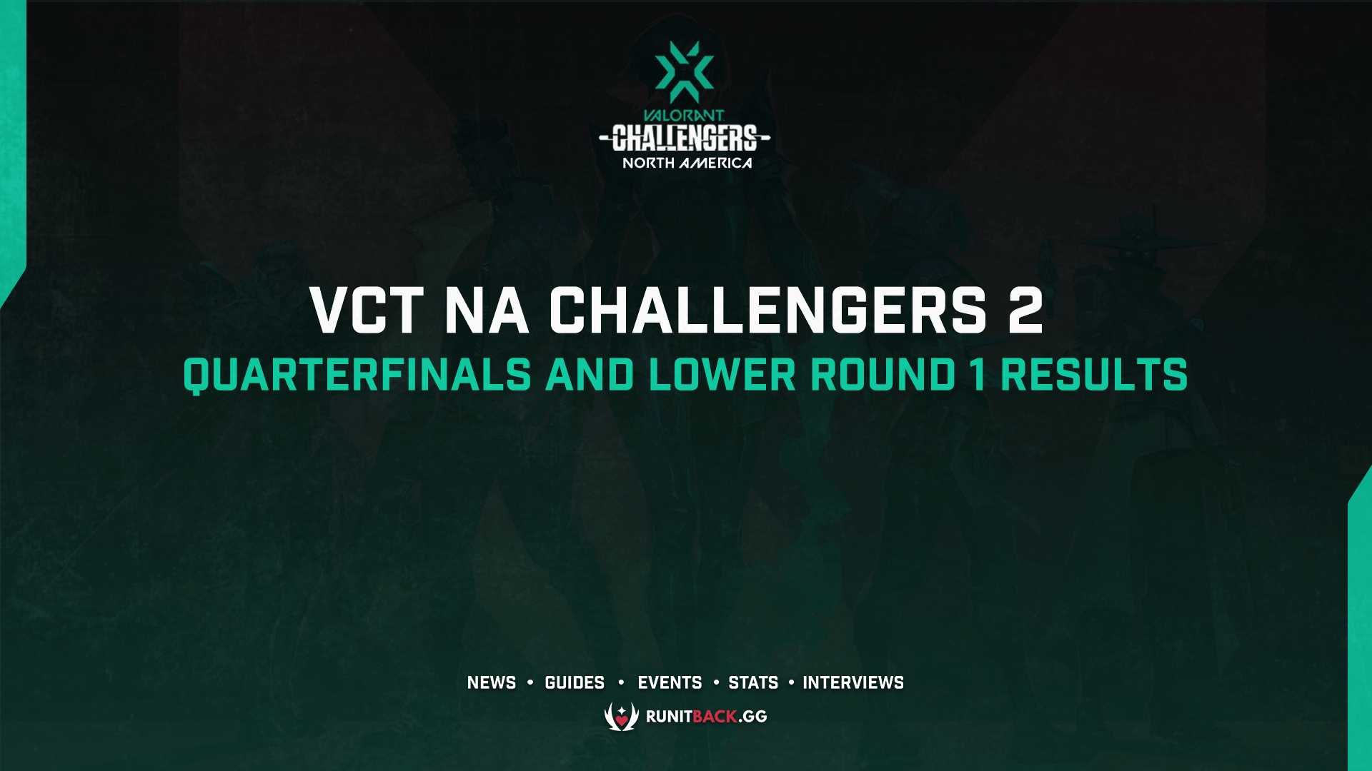 VCT NA Challengers 2 Main Event: Upper Quarterfinals and Lower Round 1 Results