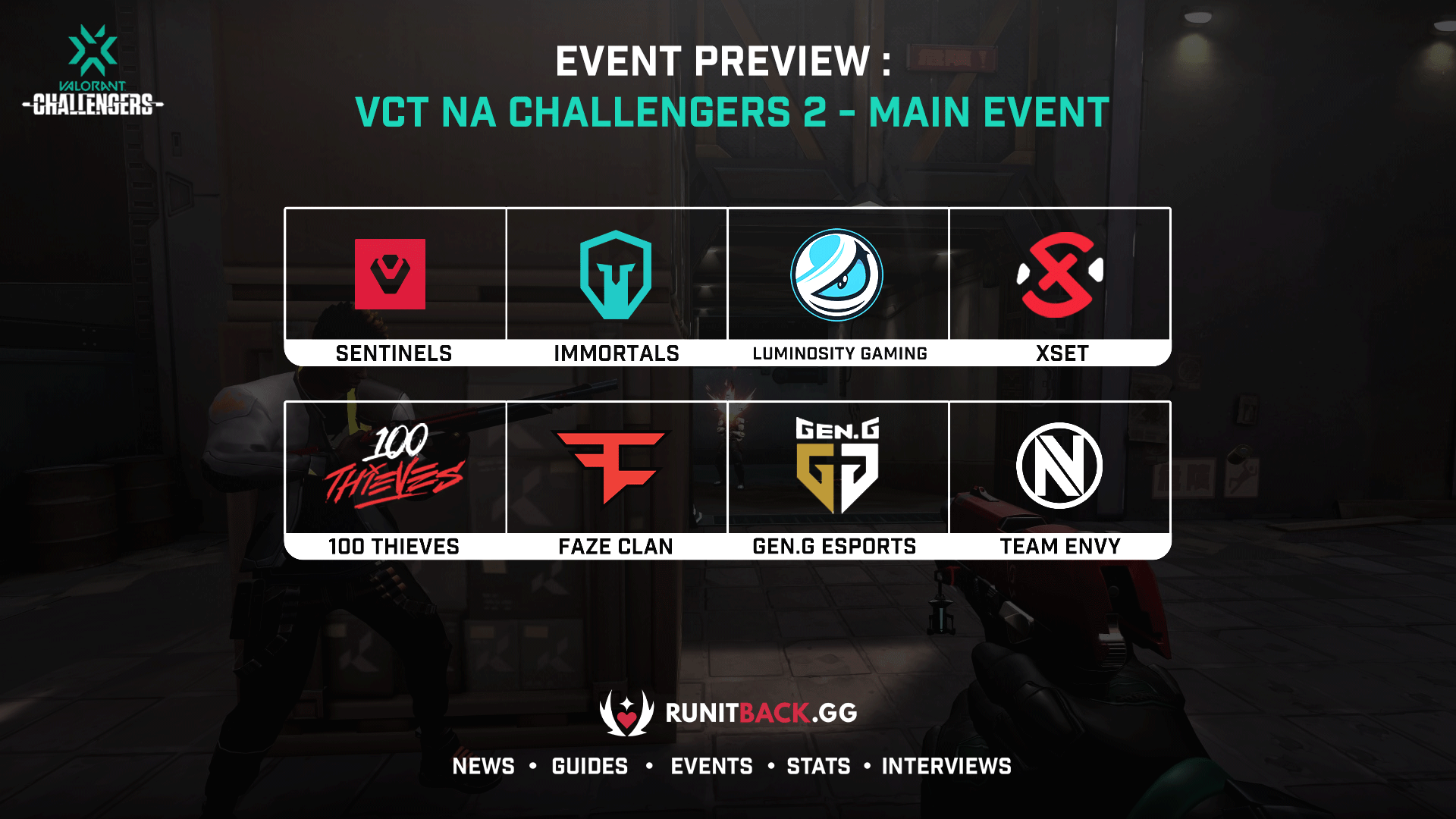 VCT NA Challengers 2 Main Event Preview and Predictions