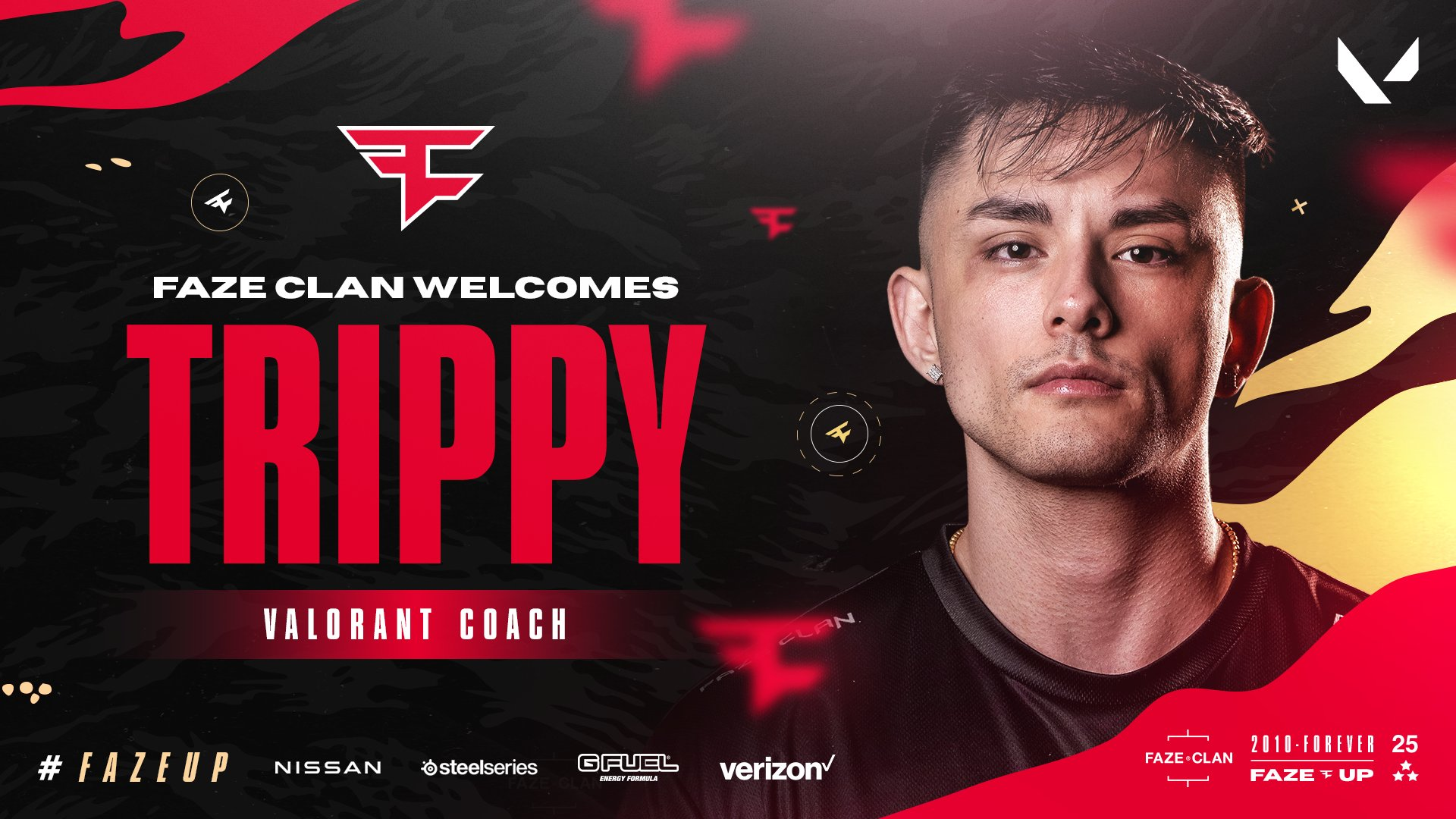 FaZe Clan sign Trippy as team's new head coach