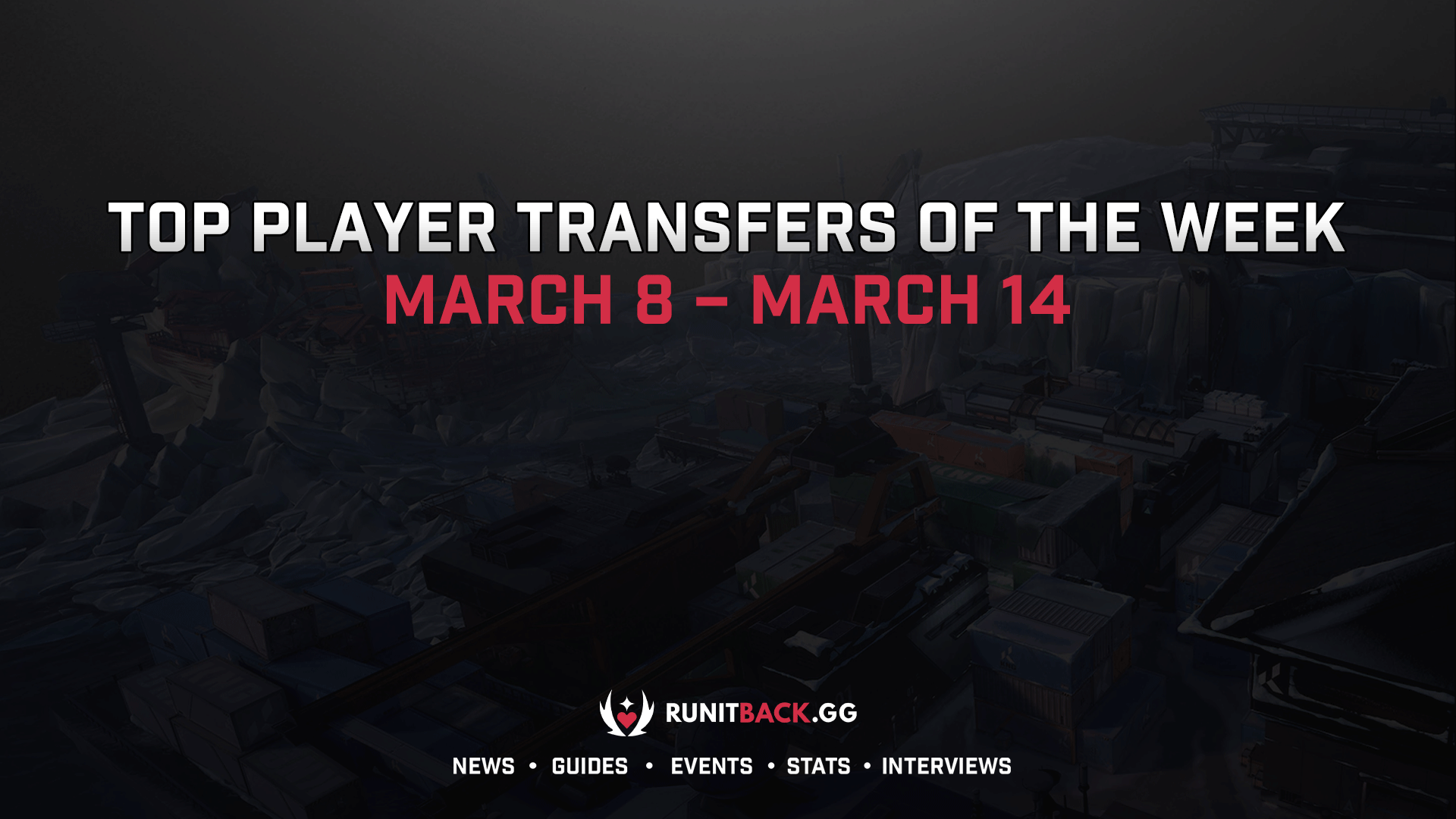 Top Player Transfers of the Week: March 8 – March 14