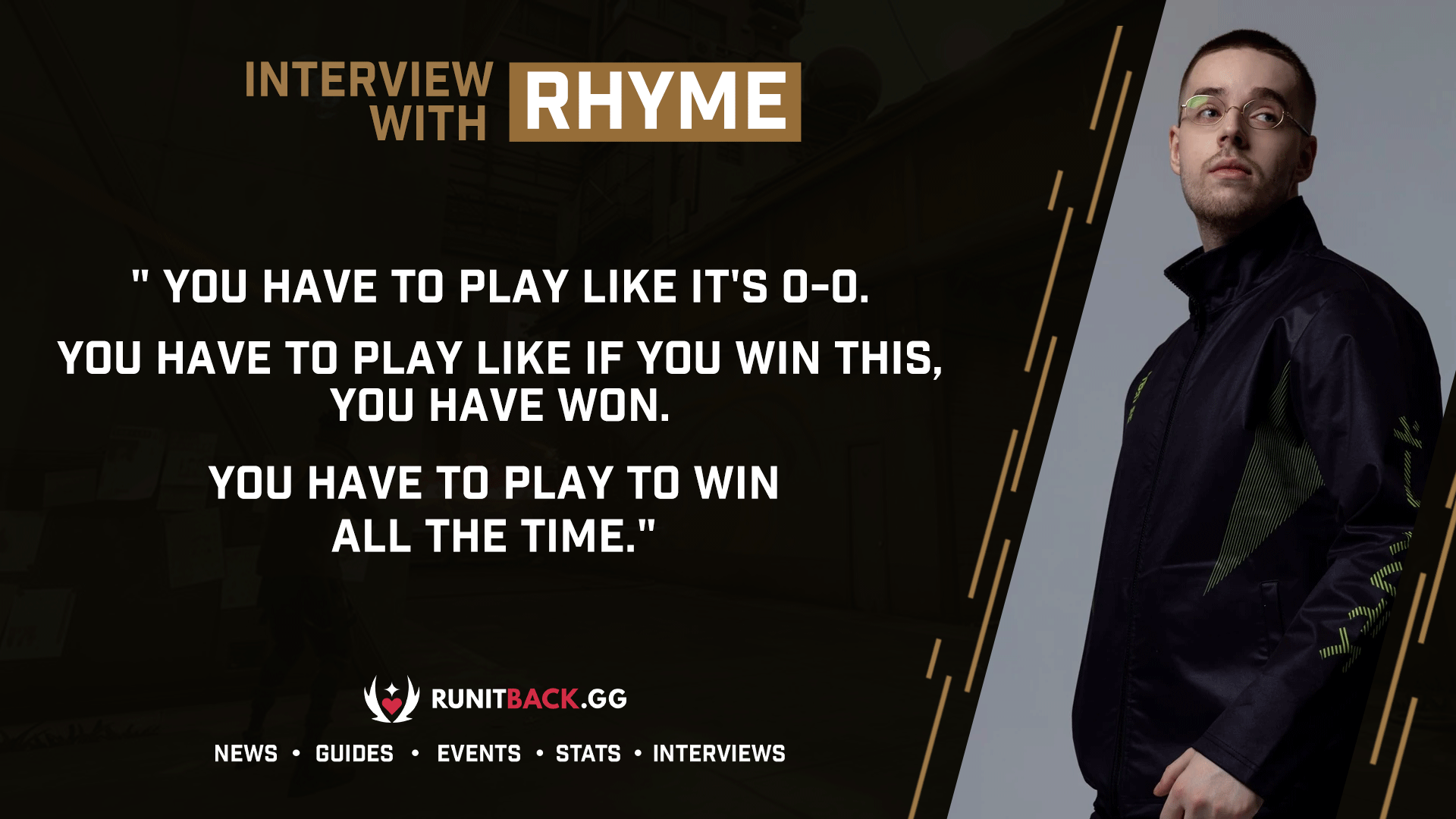 Ninjas in Pyjamas' rhyme on team mentality, Sheriff eco rounds, and matchup against Acend