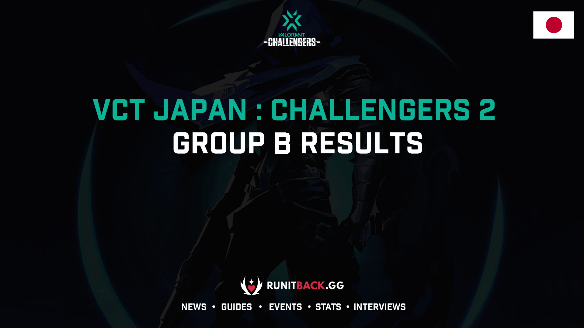 VCT Japan Challengers 2 Group B Results
