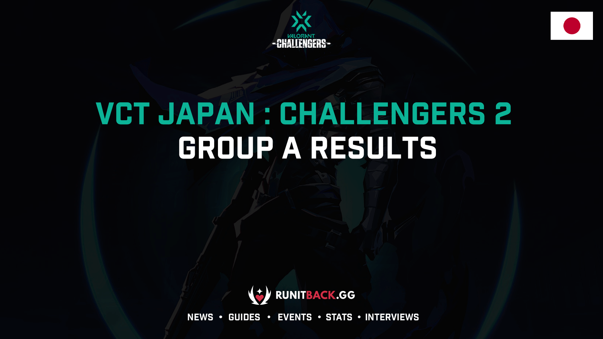 VCT Japan: Challengers 2 Group A Results
