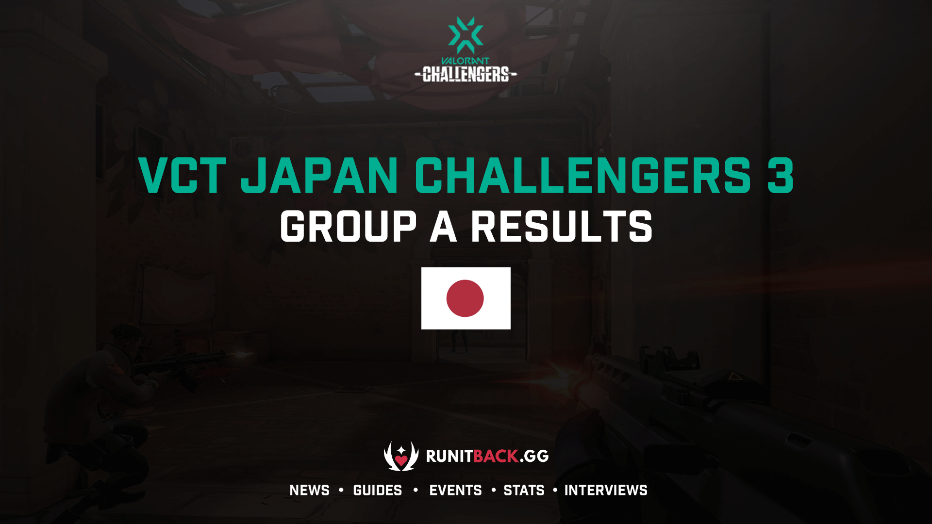 VCT Japan: Challengers 3 Group A Results