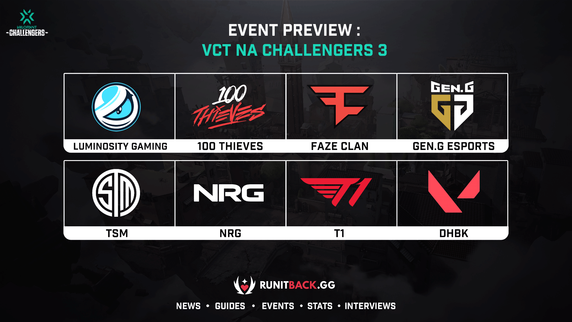 VCT NA Challengers 3 Main Event Preview