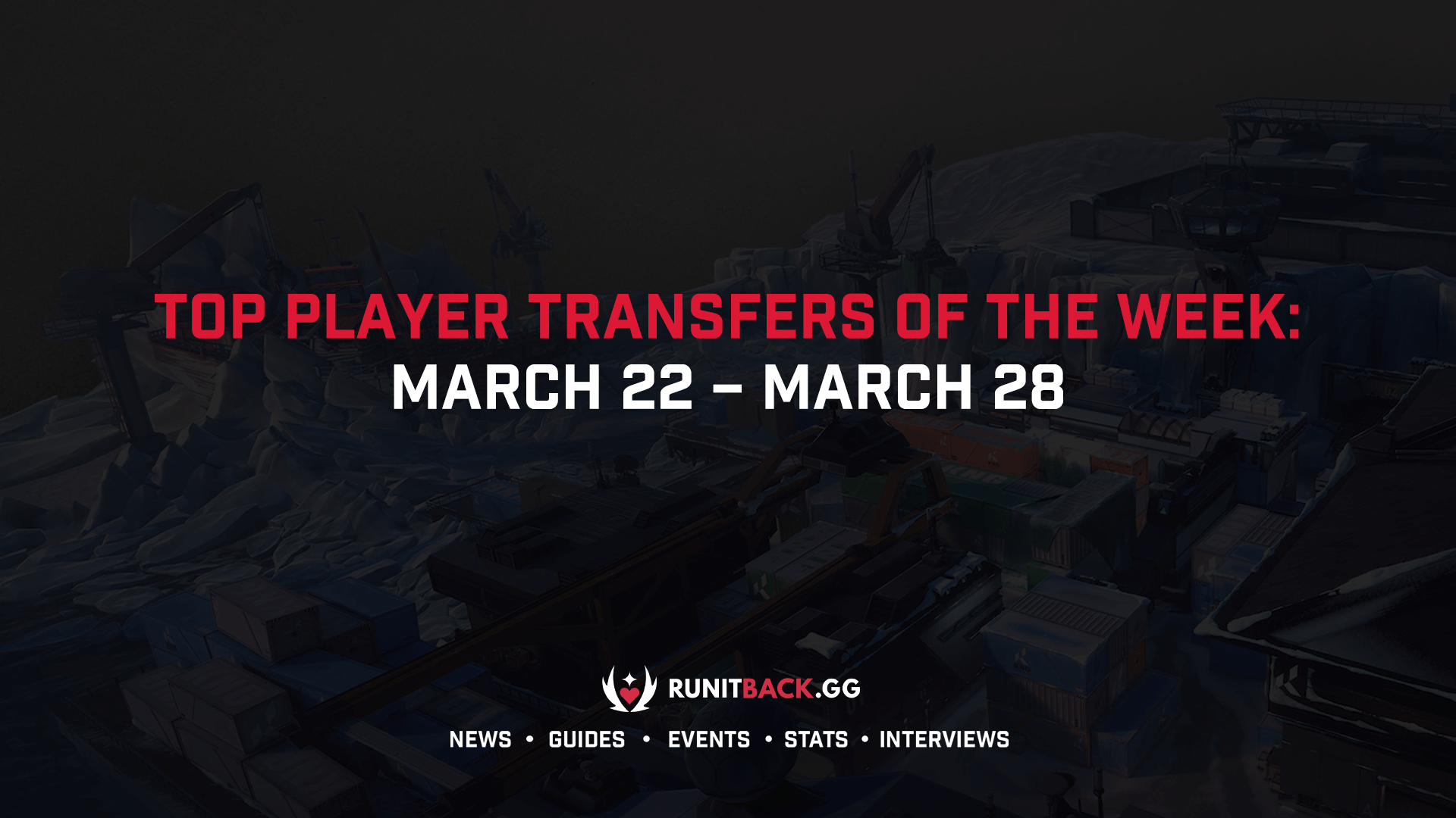 Top Player Transfers of the Week: March 22 – March 28